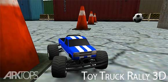 Toy Truck Rally 3D دانلود بازی رالی ماشین اسباب بازی