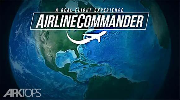 Airline Commander A real flight experience دانلود بازی فرمانده خط هوایی