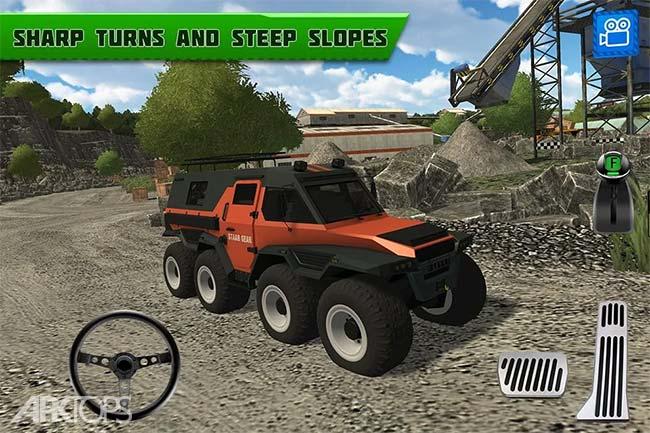 Quarry Driver 3 Giant Trucks v1.0 دانلود بازی راننده معدن3 کامیون های غول پیکر