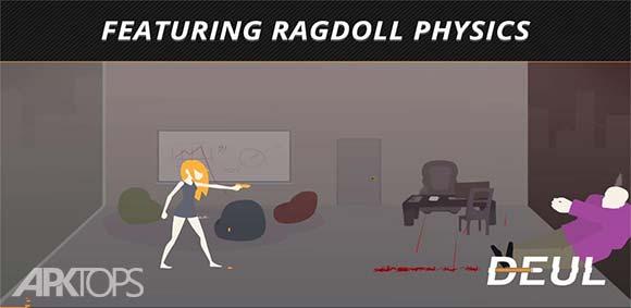 DEUL Classic Ragdoll Shooter دانلود بازی دیول تیر اندازی کلاسیک