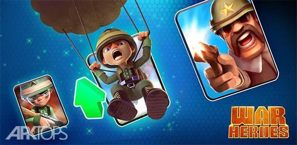 War Heroes Strategy Card Game for Free دانلود بازی قهرمانان جنگ استراتژی