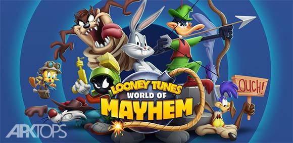 Looney Tunes World of Mayhem دانلود بازی لونی تونز