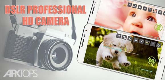 DSLR Camera Hd Professional دانلود برنامه عکاسی با کیفیت بالا