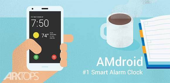Alarm Clock for Heavy Sleepers دانلود برنامه ساعت زنگ دار برای خواب های سنگین