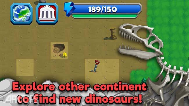 Dino Quest v1.5.13 دانلود بازی کاوش دایناسور ها
