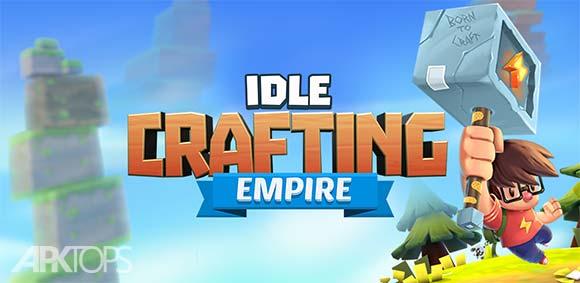 Idle Crafting Empire دانلود بازی ساختن امپراطوری