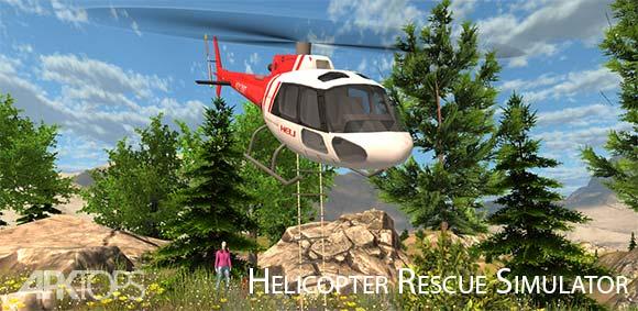Helicopter Rescue Simulator دانلود بازی شبیه ساز هلیکوپتر نجات