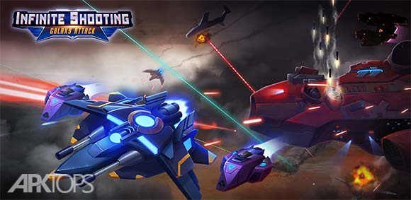 Infinite Shooting Galaxy Attack دانلود بازی تیر اندازی بینهایت در نبرد کهکشان