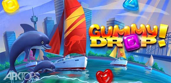 Gummy Drop Free Match 3 Puzzle Game دانلود بازی مچ کردن قطره ها