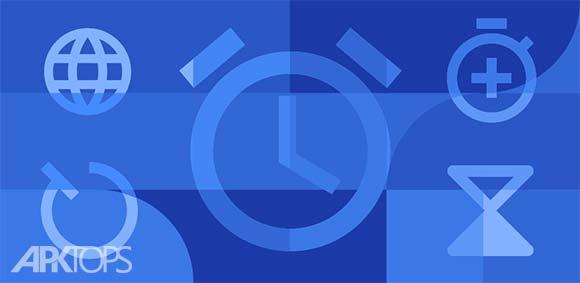 Google Clock دانلود برنامه ساعت گوگل