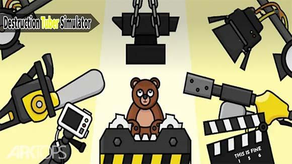 Destruction Tuber Simulator دانلود بازی شبیه سازی تخریب