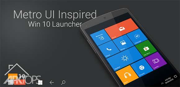 Win 10 Launcher دانلود برنامه لانچر ویندوز 10