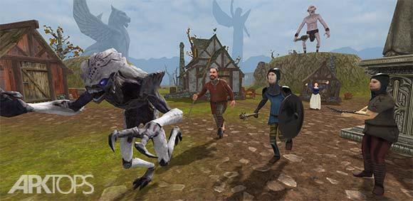 Alien Assassin 3D RPG دانلود بازی قاتل بیگانه