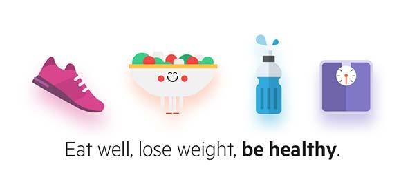Lifesum Calorie Counter Food & Nutrition Tracker دانلود برنامه راهنمای رژیم غذایی سالم