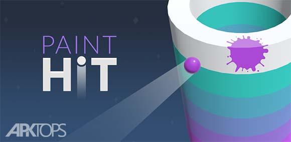Paint Hit دانلود بازی پرتاب رنگ
