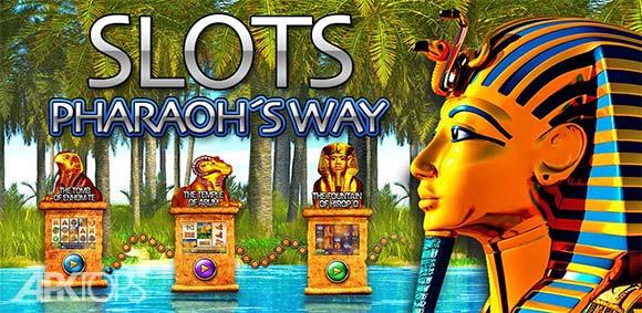 Slots Pharaohs Way دانلود بازی شکاف های راه فرعون