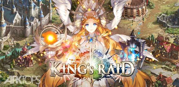Kings Raid دانلود بازی جذاب تاخت و تاز پادشاه