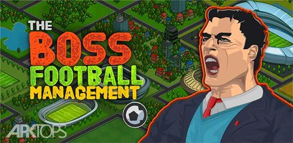 Boss Football League Soccer Manager دانلود بازی رئیس مدیریت لیگ های فوتبال