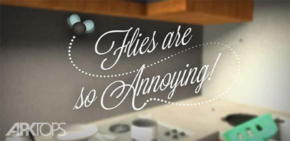 Flies Are So Annoying دانلود بازی مگس ها مزاحم هستند