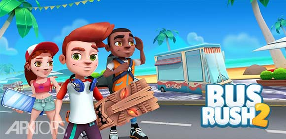 Bus Rush 2 Multiplayer دانلود بازی جذاب حمله اتوبوس ها2