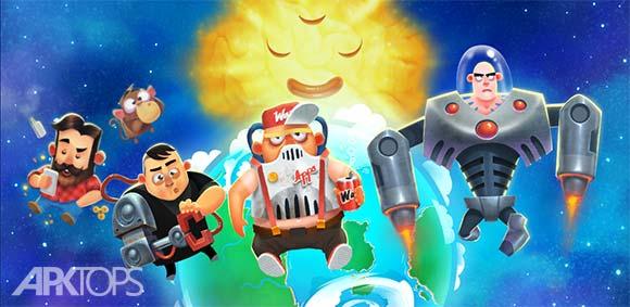 Human Evolution Clicker Game Rise of Mankind دانلود بازی کلیکی تکامل انسان