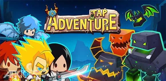 Tap Adventure Hero Idle RPG Clicker Fun Fantasy دانلود بازی ماجراجویی ضربه ای قهرمان