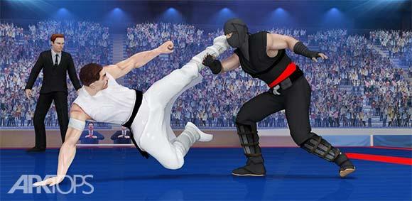 Royal Karate Training Kings Kung Fu Fighting 2018 دانلود بازی پادشاهان اموزش کاراته