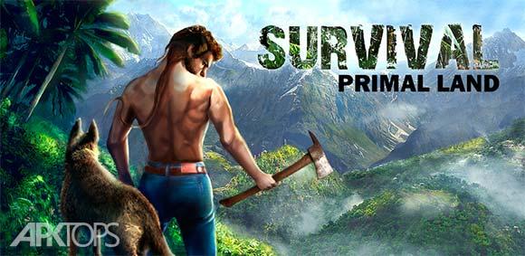 Survival Island Primal Land دانلود بازی جزیره ی بازماندگان