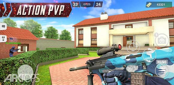 Special Ops Gun Shooting Online FPS War Game دانلود بازی عملیات ویژه تیراندازی با اسلحه