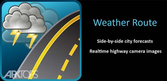 Weather Route دانلود برنامه نمایش پیش بینی آب و هوا در مسیر حرکت