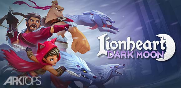 Lionheart Dark Moon RPG دانلود بازی قهرمان شیر دل