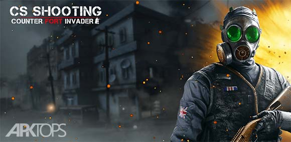 Counter Fort Invader CS Shooting دانلود بازی مبارزه در دژ مهاجمین