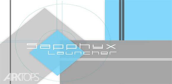 Sapphyx Launcher 2 دانلود برنامه لانچر سافیکس2