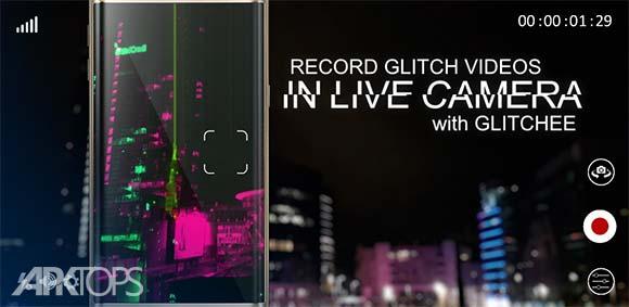 Glitch Video Effects Glitchee دانلود برنامه گذاشتن افکت گلیچ رو فیلم ها