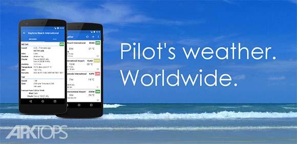 Avia Weather METAR & TAF دانلود برنامه نمایش اب و هوا برای خلبانان هواپیما