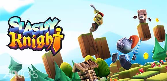 Slashy Knight دانلود بازی شوالیه های دوگانه