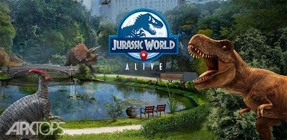 Jurassic World Alive دانلود بازی جهان زنده ژوراسیک