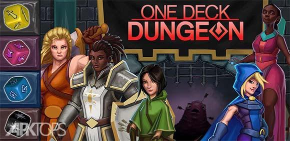 One Deck Dungeon دانلود بازی یک عرشه در زندان