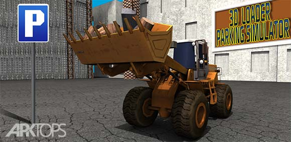 3D Loader Parking Simulator دانلود بازی شبیه سازی پارک لودر