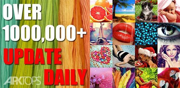 1,000,000 Wallpapers HD دانلود برنامه ارشیو تصاویر پس زمینه باکیفیت