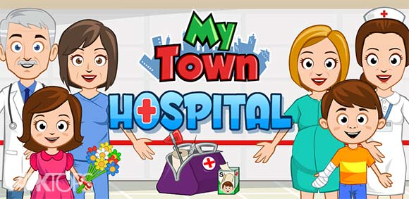 My Town Hospital دانلود بازی شهر من بیمارستان