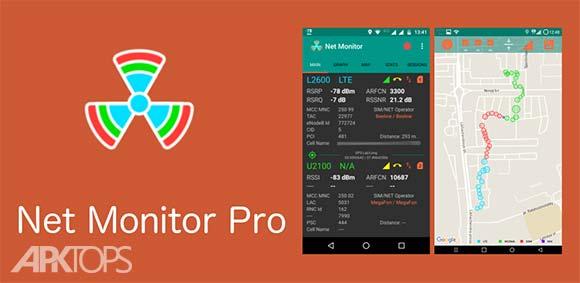 NetMonitor Pro دانلود برنامه نمایش پارامتر های شبکه ی گوشی