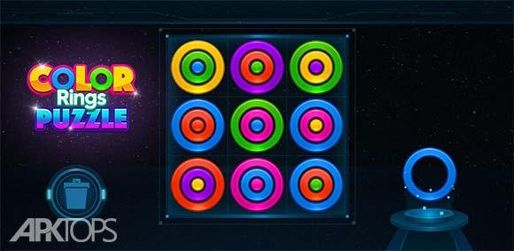 Color Rings Puzzle دانلود بازی پازل حلقه های رنگی