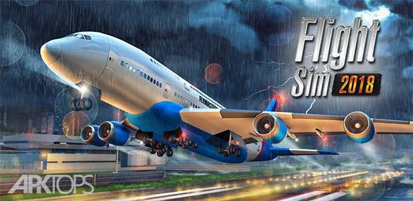 Flight Sim 2018 دانلود بازی شبیه سازی پرواز