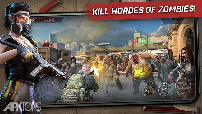 Left to Survive PvP Zombie Shooter v3.2.2 دانلود بازی بازمانده برای زنده ماندن + مود اندروید