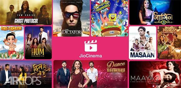 JioCinema Movies TV Originals دانلود برنامه جیوسینما تماشای انلاین فیلم ها و سریال ها
