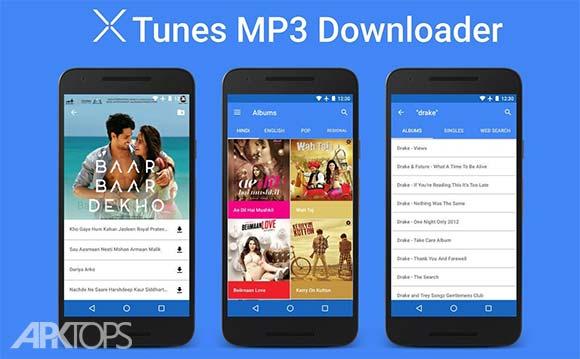 XTunes MP3 Downloader دانلود برنامه دانلود موسیقی ایکس تونز