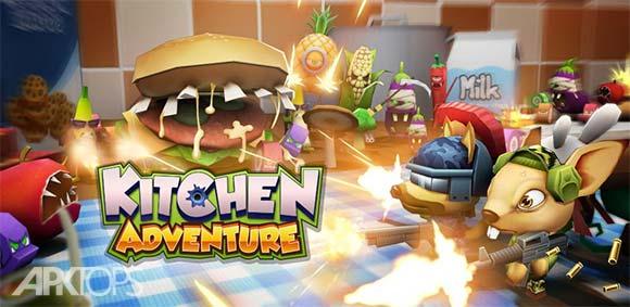 Kitchen Adventure 3D دانلود بازی ماجراجویی در آشپزخانه