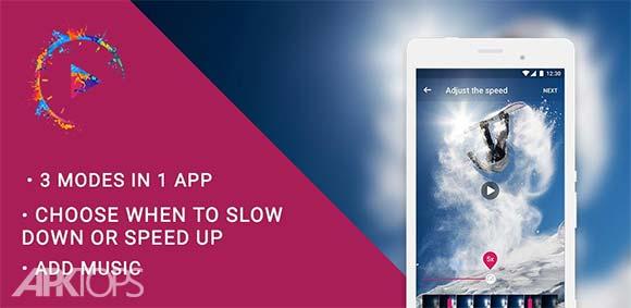Efectum Reverse Cam Slow Motion Fast Video دانلود برنامه ایجاد تغییرات خلاقانه روی فیلم ها