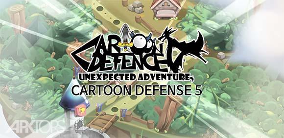 Cartoon Defense 5 دانلود بازی دفاع کارتونی5